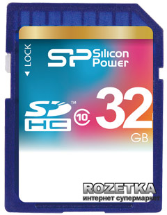 Silicon Power SDHC 32GB Class 10 (SP032GBSDH010V10)