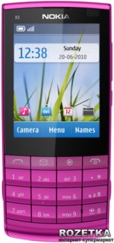 Nokia X3-02.5 Touch and Type Pink