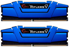 Оперативная память G.Skill DDR4-2666 16384MB PC4-21300 (Kit of 2x8192) Ripjaws V Blue (F4-2666C15D-16GVB)