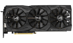 Asus PCI-Ex GeForce RTX 2060 ROG Strix A6G Gaming Advanced Edition 6GB GDDR6 (192bit) (1710/14000) (2 x DisplayPort, 2 x HDMI 2.0b) (ROG-STRIX-RTX2060-A6G-GAMING)