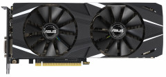 Asus PCI-Ex GeForce RTX 2060 Dual 6G 6GB GDDR6 (192bit) (1680/14000) (2 x DisplayPort, 2 x HDMI 2.0b, 1 х DVI-D) (DUAL-RTX2060-6G)