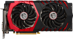 MSI PCI-Ex GeForce GTX 1060 Gaming X 6GB GDDR5 (192bit) (1569/8008) (DVI, HDMI, 3 x DisplayPort) (GTX 1060 GAMING X 6G)