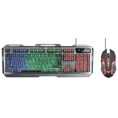 IT набор Trust GXT 845 Tural Gaming Combo (22457)