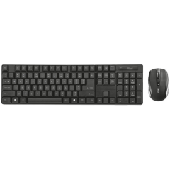 IT набор Trust Ximo Wireless Keyboard With Mouse Black (21628)