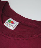 Футболка Fruit of the Loom ValueWeight XXL Бордовый (0610360412XL) - изображение 6