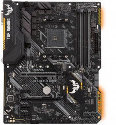 Материнская плата Asus TUF B450-Plus Gaming (sAM4, AMD B450, PCI-Ex16)
