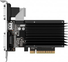 Palit PCI-Ex GeForce GT 710 2048MB DDR3 (64bit) (954/1600) (VGA, DVI, HDMI) (NEAT7100HD46-2080H)