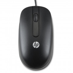 Мышь HP Optical Scroll USB (QY777AA) Black