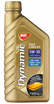 Моторное масло MOL Dynamic Gold Longlife 5W-30 1л