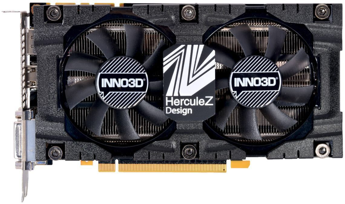 INNO3D PCI-Ex GeForce GTX 1070 Twin X2 V4 8GB GDDR5 (256bit) (1506/8000) (2  x DVI, HDMI, DisplayPort) (N1070-4SDV-P5DS)
