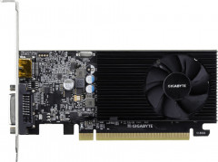 Gigabyte PCI-Ex GeForce GT 1030 Low Profile 2GB DDR4 (64bit) (1151/2100) (DVI, HDMI) (GV-N1030D4-2GL)