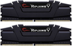 Оперативная память G.Skill DDR4-3200 8192MB PC4-25600 (Kit of 2x4096) Ripjaws V Black (F4-3200C16D-8GVKB)