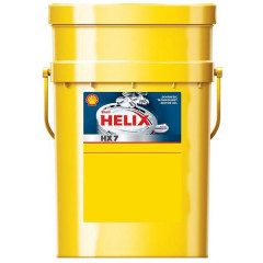 Моторное масло Shell Helix HX7 5W-30 20 л