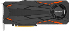 Gigabyte PCI-Ex GeForce GTX 1080 Turbo OC 8GB GDDR5X (256bit) (1632/10010) (DVI, HDMI, 3 x DisplayPort) (GV-N1080TTOC-8GD)