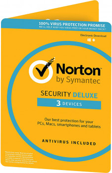 Антивірус Norton Security Deluxe 3.0 для 3 ПК на 2 роки ESD-електронний ключ у конверті (C4526683)
