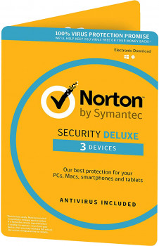 Антивірус Norton Security Deluxe 3.0 для 3 ПК на 3 роки ESD-електронний ключ у конверті (C4526684)