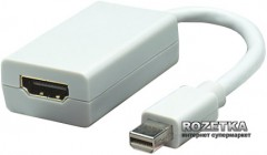 Переходник Manhattan mini DisplayPort M-HDMI F (322461)