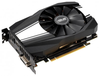 Asus PCI-Ex GeForce RTX 2060 Phoenix 6GB GDDR6 (192bit) (1395/14000) (DVI, 2 x HDMI, DisplayPort) (PH-RTX2060-6G)