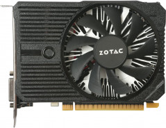 Zotac PCI-Ex GeForce GTX 1050 Ti Mini 4GB GDDR5 (128bit) (1303/7000) (DVI, HDMI, DisplayPort) (ZT-P10510A-10L)
