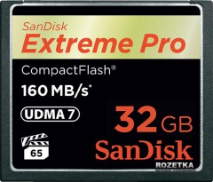 SanDisk CompactFlash Extreme Pro 32GB (SDCFXPS-032G-X46)
