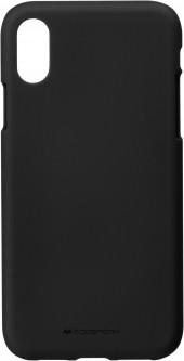 Панель Goospery для Apple iPhone X/Xs SF Jelly Black (8809550409194)