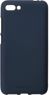 Панель Goospery для Asus Zenfone 4 Max (ZC554) SF Jelly Midnight Blue (8809640681929)