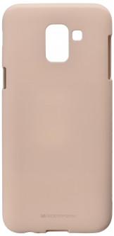 Панель Goospery для Samsung Galaxy J6 (J600) SF Jelly Pink Sand (8809621260617)