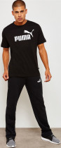 Футболка Puma Essentials Tee 85174001 S Cotton Black (4059506774799) - изображение 4