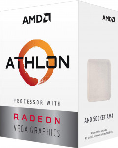 Процессор AMD Athlon 240GE 3.5GHz/4MB (YD240GC6FBBOX) AM4 BOX
