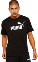 Футболка Puma Essentials Tee 85174001 M Cotton Black (4059506774201) - изображение 1