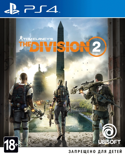 Игра Tom Clancy's: The Division 2 для PS4 (Blu-ray диск, Russian version)