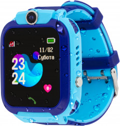 Смарт-часы Atrix Smart Watch iQ1500 Aquatic Cam GPS Blue (iQ1500 Blue)