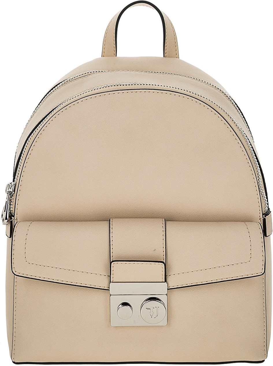 fab92226449d Женская сумка-рюкзак Trussardi Jeans With Love City Backpack M  9Y099998/75B00710/W030 Бежевая (8057735755981)