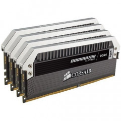 CORSAIR Dominator Platinum 16GB [4x4GB 2666MHz DDR4] (CMD16GX4M4A2666C15)