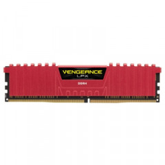 CORSAIR Vengeance LPX 8GB Red [1x8GB 2666MHz DDR4] (CMK8GX4M1A2666C16R)