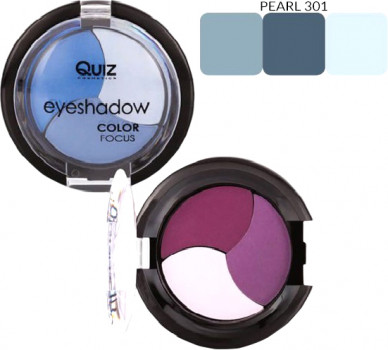 Тени для век Quiz Color Focus eyeshadow 3 301 4 г (5906439013282)