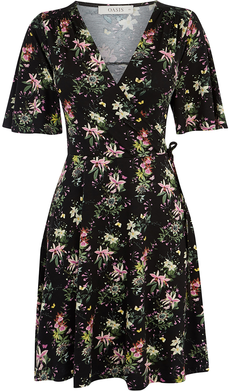 e66257ac227e Платье Oasis Mini Kelsey Angel Sleeve Dress 065829-58 S (5054413523422)