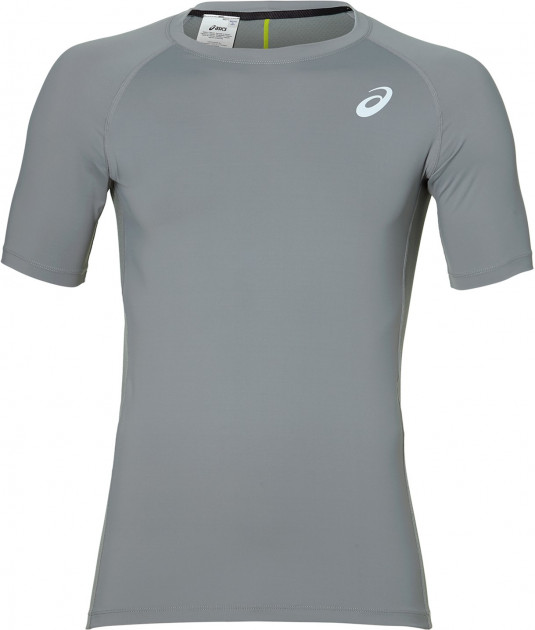 Футболка ASICS Base Layer SS Top 153363-0795 L Серая (4549846986728)