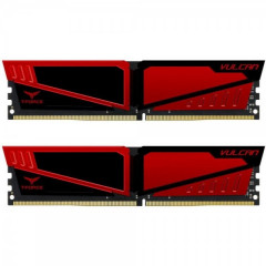 Team DDR4 16384Mb T-Force Vulcan Red (TLRED416G3200HC16CDC01)