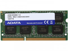 A-DATA SoDIMM DDR3 8192Mb (ADDS1600W8G11-S)