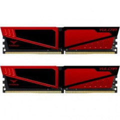 Team DDR4 8192Mb T-Force Vulcan Red (TLRED48G2400HC14DC01)