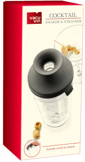 Шейкер с ситом Vacu Vin Cocktail shaker & Strainer (7840360)