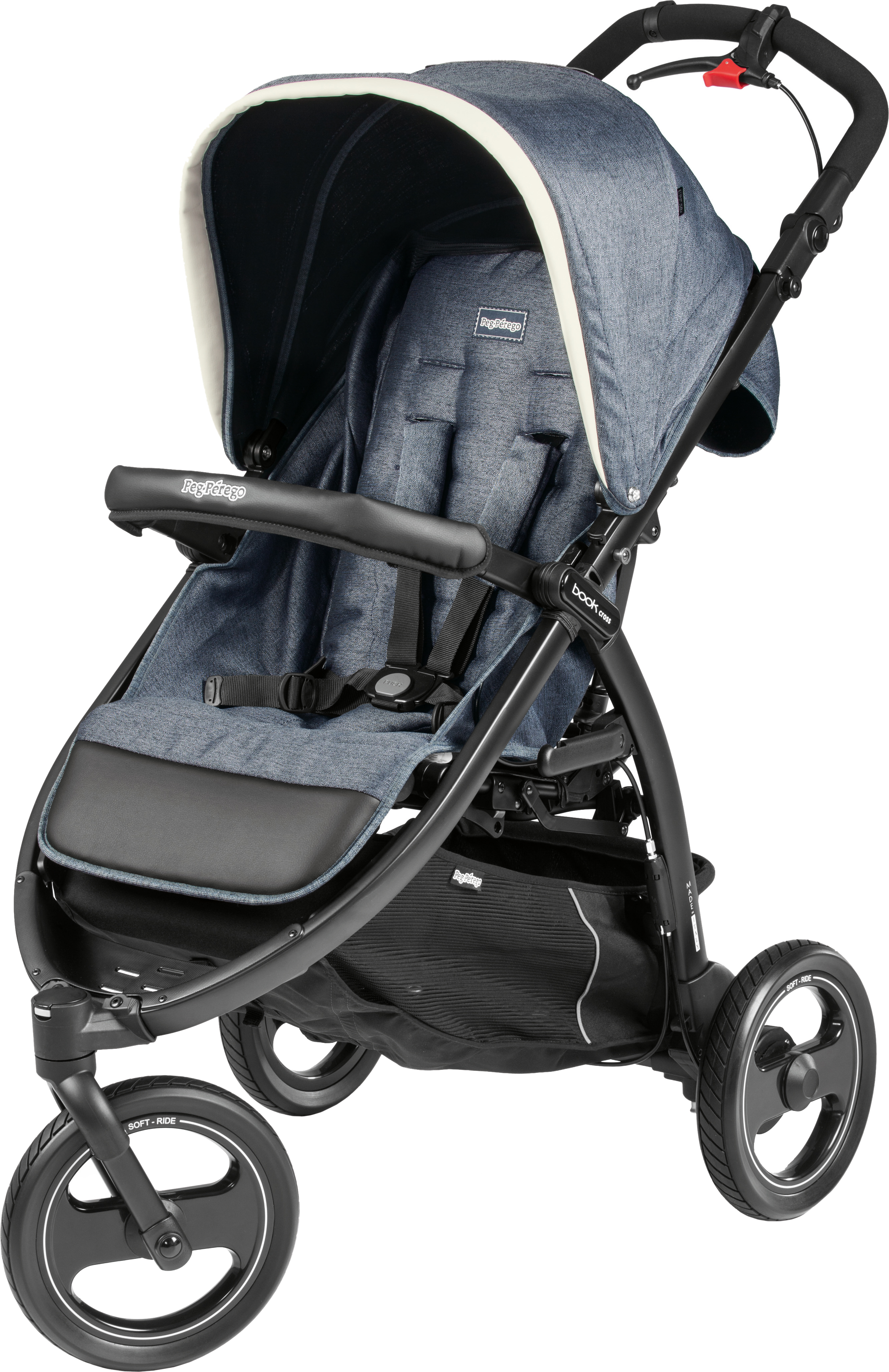 Коляска Peg-Perego Book Cross Luxe Mirage (8005475390573) (IP02300000BA71PL00)