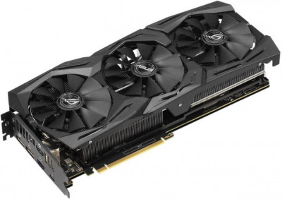 Asus PCI-Ex GeForce RTX 2070 ROG Strix 8GB GDDR6 (256bit) (1410/14000) (USB Type-C, 2 x HDMI, 2 x DisplayPort) (ROG-STRIX-RTX2070-8G-GAMING)