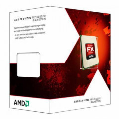 Процессор AMD AM3+ FX6300 Box 6x35 GHz Turbo Boost 41 GHz L3 8Mb Vishera 32 nm TDP 95W FD6300WMHKBOX