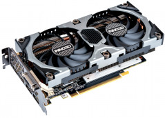 INNO3D PCI-Ex GeForce GTX 1060 GAMING OC 6GB GDDR5X (192bit) (1556/10000) (DVI, HDMI, 3x DisplayPort) (N1060-BSDN-N6GNX)