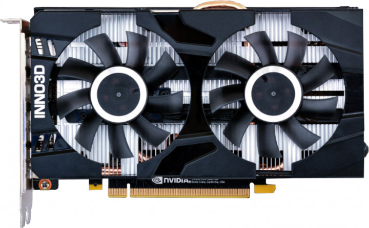 INNO3D PCI-Ex GeForce GTX 1660 Ti Twin X2 6GB GDDR6 (192bit) (1770/12000) (HDMI, 3x DisplayPort) (N166T2-06D6-1710VA15) - зображення 1