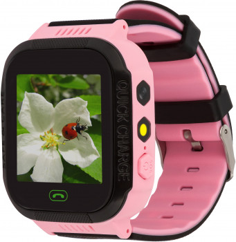 Смарт-годинник Discovery iQ4300 Camera LED Light GPS Pink