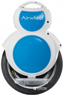 Моноколесо AirWheel Q6+ 130WH White-Blue (6925611212304) (Q6W13BA141204126) - Уценка
