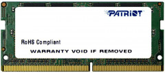 Оперативная память Patriot SODIMM DDR4-2666 16384MB PC4-21300 Signature Line (PSD416G26662S)